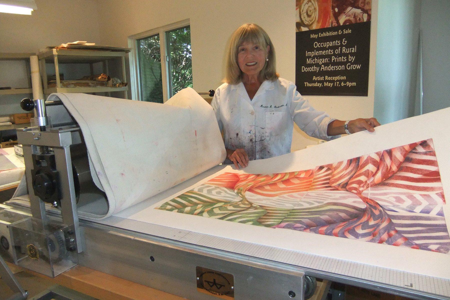 Dorothy Anderson Grow, Artist
